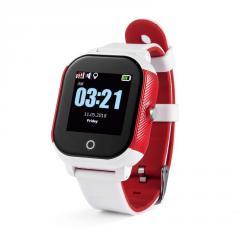 Оригинальные детские смарт часы с GPS WONLEX GW700S цвет красный
