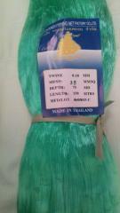 Сетеполотно рыболовное (кукла) леска 150х75 леска 0.18 ячейка 30