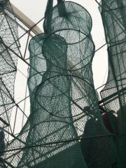 Раколовка кордовая нить, 6.5 метров, 25х30, 17 входов, ячея 8мм