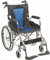 Коляска инвалидная алюминиевая, без двигателя Golfi
