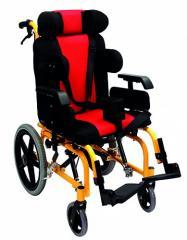 Коляска инвалидная, педиатрическая, для пациентов с церебральным параличом, без двигателя (Golfi-16C) Golfi