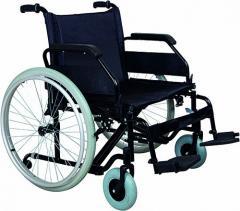 Коляска инвалидная, для людей с большим весом, без