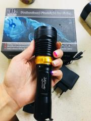 Водонепроницаемый фонарь для дайвинга и подводной