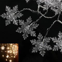 Гиpлянда - штоpа «Изящные Снежинки» 3,5 м
