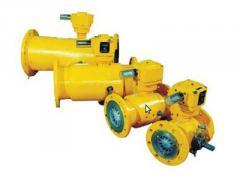 Счетчик расходомер газа турбинный G160 ЛГ-К-80 Ех