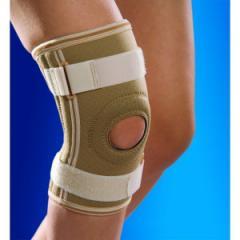 Бандаж на колено c металлическими вставками...