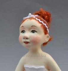 Кукла ручной работы в Украине балерина Соня