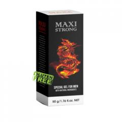 Интимный гель для укрепления эрекции Maxi Strong (Макси Стронг)