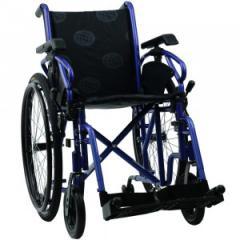Инвалидная коляска, синяя, транзитные инвалидные коляски «MILLENIUM IV» OSD