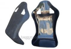Fiberglass seat for auto and moto boats and