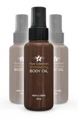 Pure csillámos testápoló (Pure csillámos Badi) - a krém a bőr ragyogását