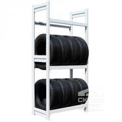 Racks for tires