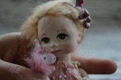 Original gift - an exclusive doll Marshmallow and