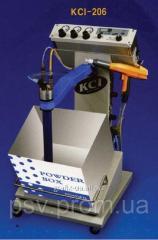 KCI -206 Ручная установка с забором из коробки для напыления порошковой краски