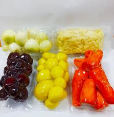 Овочі свіжі чищені