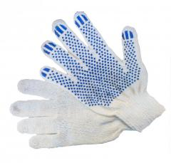 Gloves x / with PVC poin