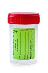 Емкость для забора мочи URI-BOX 60мл (стерильная) MEDICAL
