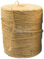 The twine is senovyazalny. Twine linen, jute,