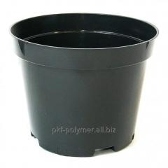 Горшок для саженцев 17х13см 2л. Черный Полимер