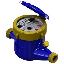 Cчётчик воды многоструйный крыльчатый Gross (мокроход) MNK-UA R80 DN20