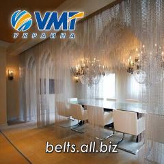 Металлические занавески для баров и ресторанов