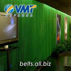 Металлические занавески для выставочных залов