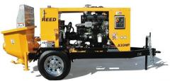 REED A30 concrete pump and A30HP.
