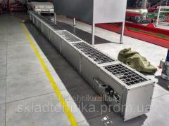 Конвейер скребковый длиной 4 500 мм