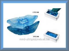 Бахилы полиэтиленовые для Клинтопера ТPE100 50 пар