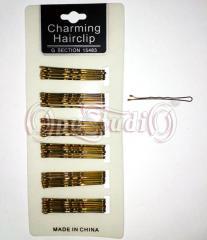Невидимки волнистые бронзовые 50 мм