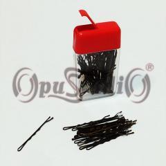 Невидимки для волос волнистые 50мм 50шт