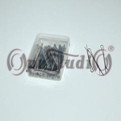 Невидимки для волос прямые из нержавеющей стали