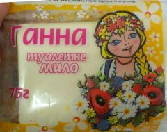 ANNA toilet soap of 75 g