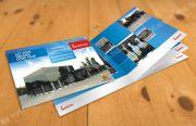 Brochure, printing of brochures, creation of