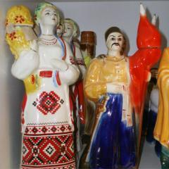 Фигуры из керамики, керамические статуэтки,
