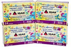Пластырь медицинский RiverPlast IGAR тип Классический (на хлопковой основе)