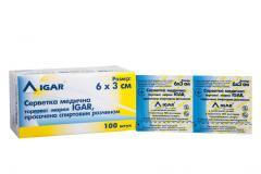 Салфетки медицинские IGAR, пропитанные спиртовым