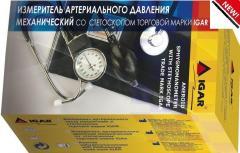 Измеритель артериального давления механический со стетоскопом IGAR