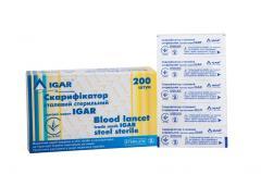 Скарификаторы стальные стерильные IGAR