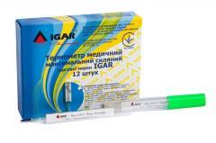 Термометр медицинский максимальный стеклянный IGAR