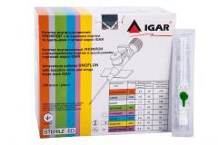 Катетер внутривенный УНОФЛОН с инъекционным портом и крылышками IGAR