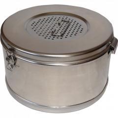 Коробка стерилизационная КСК-3 . Диаметр 150 мм,