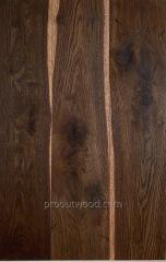 Parquet board three-layer engineering oak, ash,