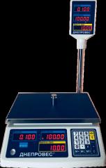 Весы торговые со стойкой ВТД-РС
