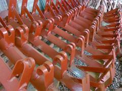 Rolikoopora for belt conveyers