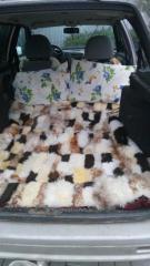 Накидка на заднее авто сиденья, спальное