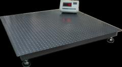 Весы платформенные напольные ВПД1010 эконом