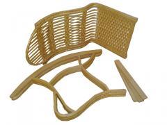 Кресло-качалка детская из лозы (разборная)
