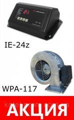 Комплект автоматика IE-24z и вентилятор WPA117 для