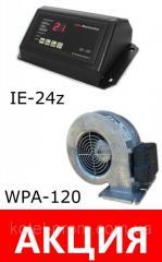Комплект автоматика IE-24z и вентилятор WPA120 для